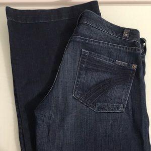 7 for All Man Kind Dojo Jean